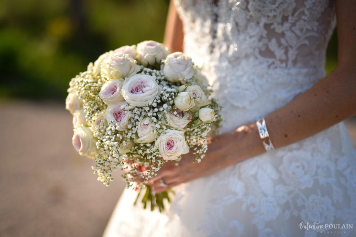 Mariage romantique Domaine Beaupré - Valentine Poulain bouquet