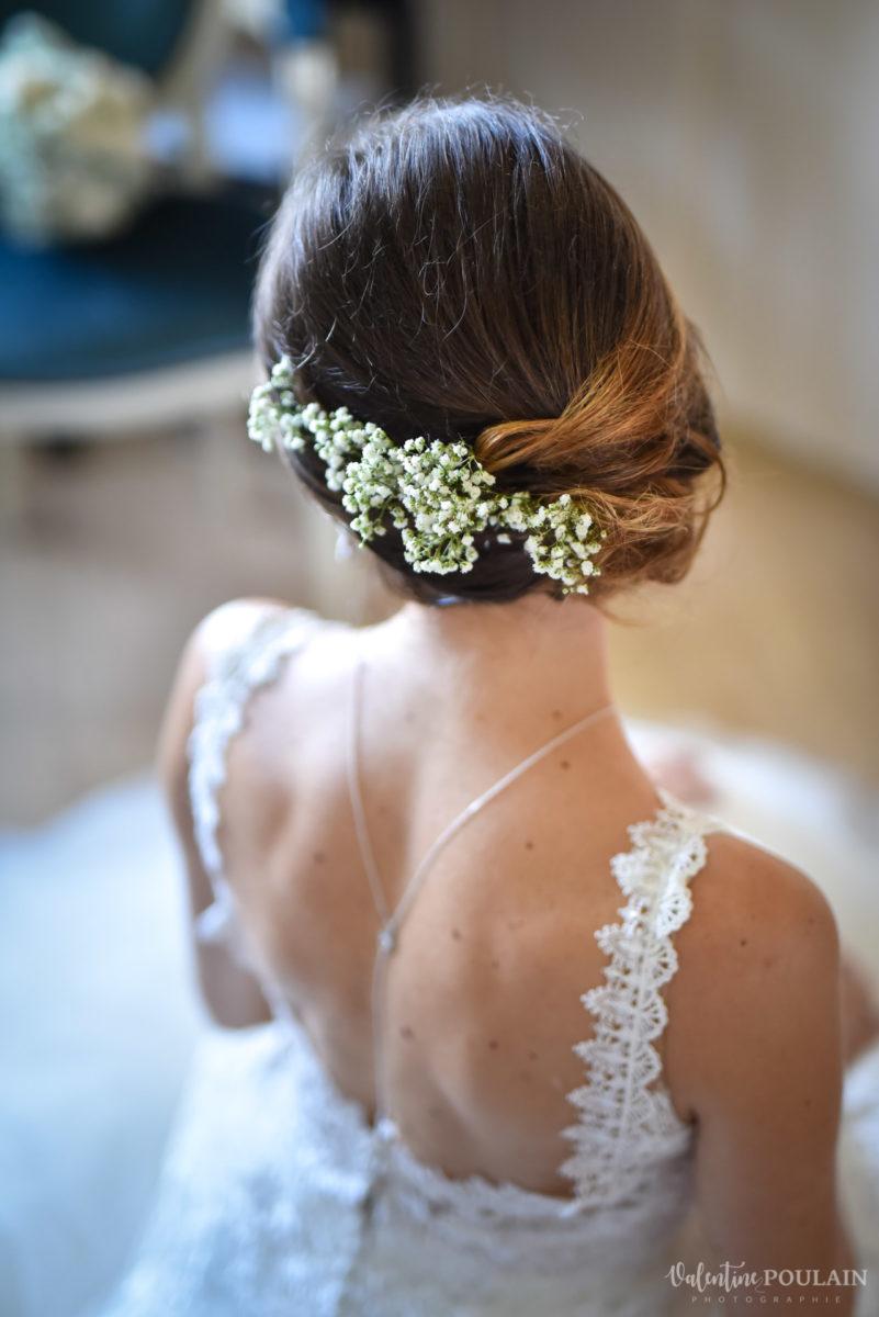 Mariage romantique Domaine Beaupré - Valentine Poulain coiffure