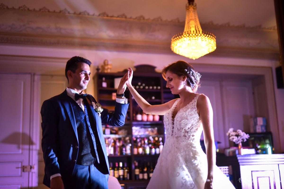 Mariage romantique Domaine Beaupré - Valentine Poulain danse