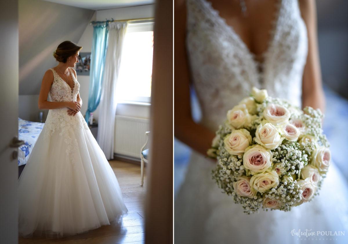 Mariage romantique Domaine Beaupré - Valentine Poulain fleurs