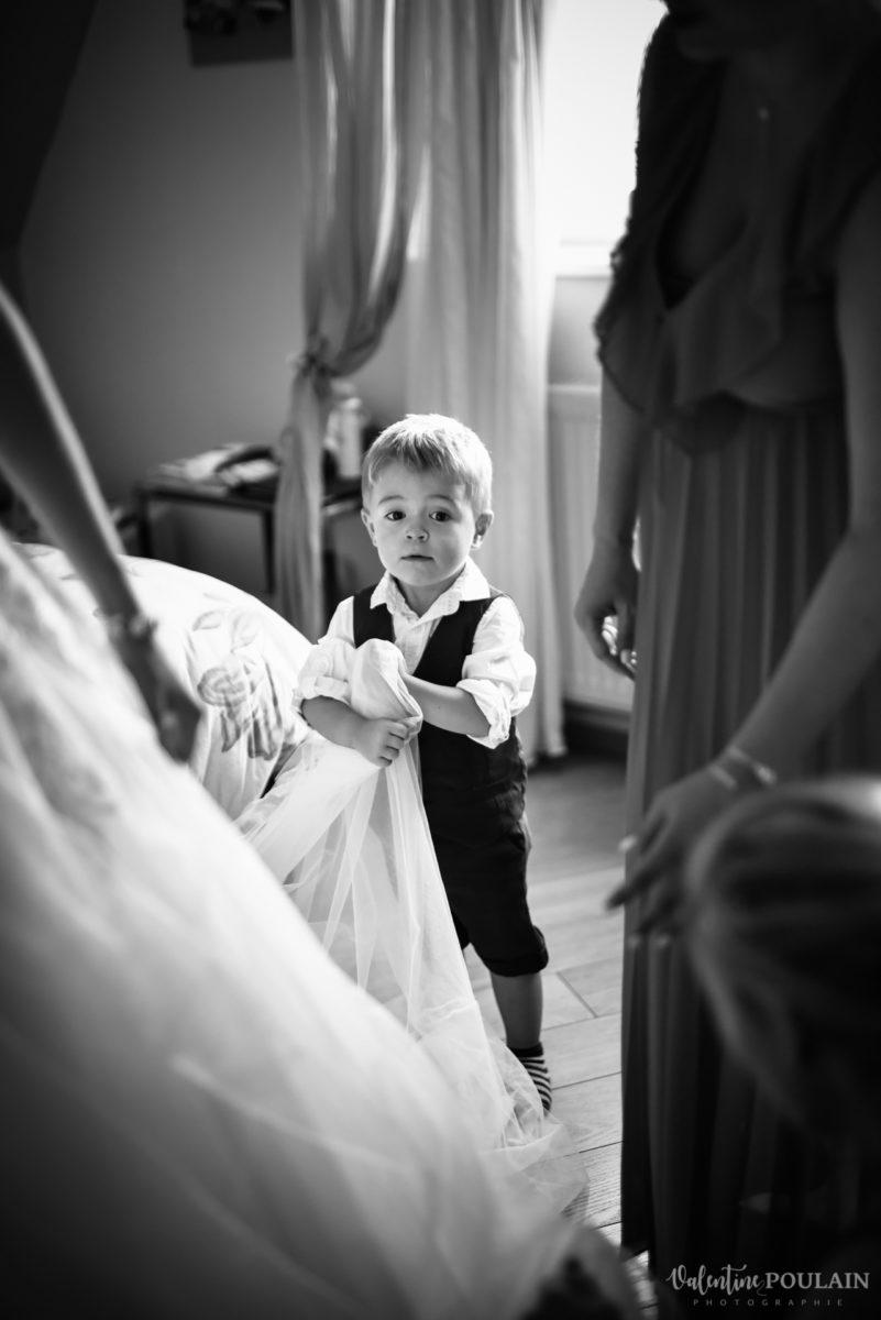 Mariage romantique Domaine Beaupré - Valentine Poulain garçon