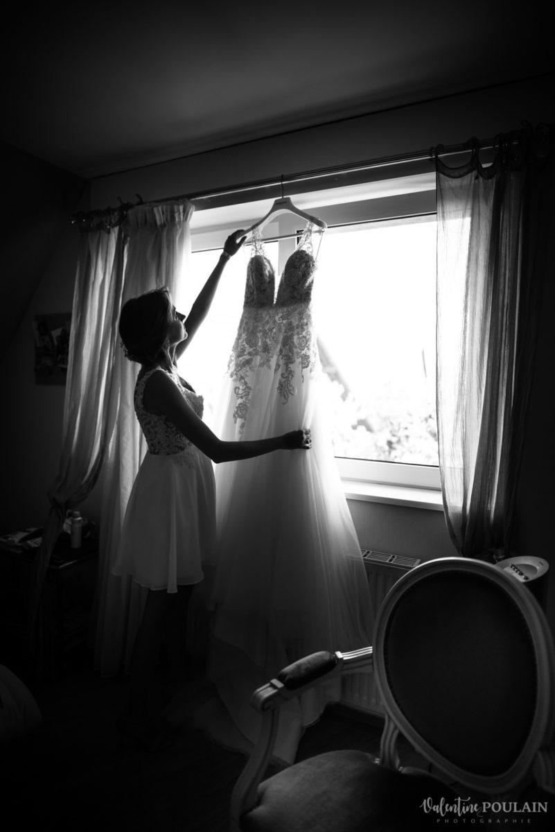 Mariage romantique Domaine Beaupré - Valentine Poulain robe