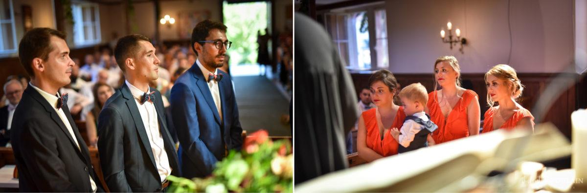 Mariage romantique Domaine Beaupré - Valentine Poulain témoins