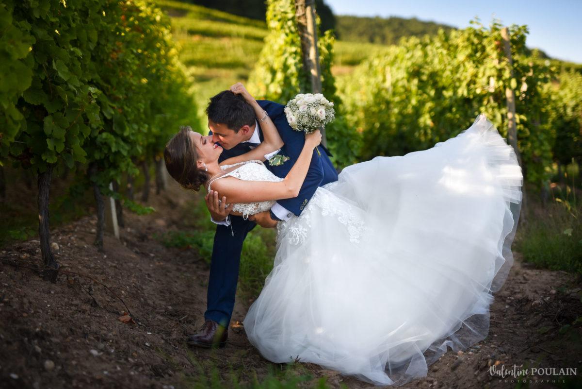 Mariage romantique Domaine Beaupré - Valentine Poulain valser