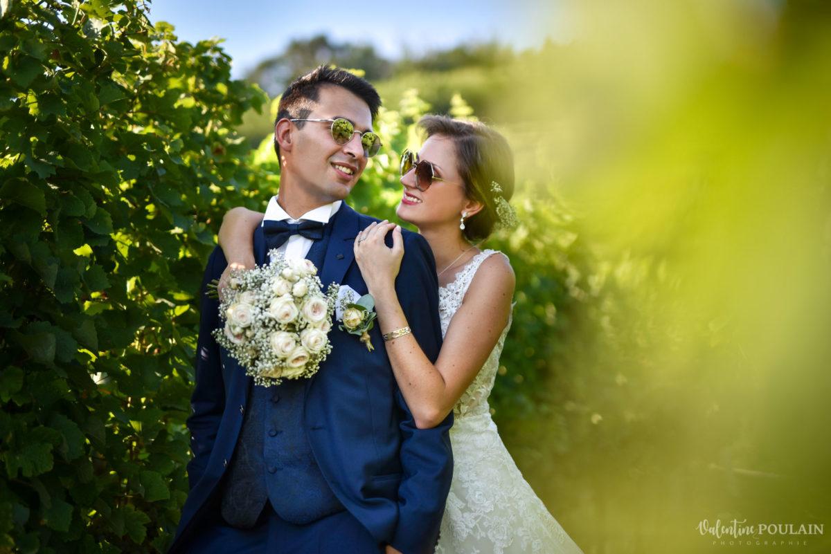 Mariage romantique Domaine Beaupré - Valentine Poulain vert