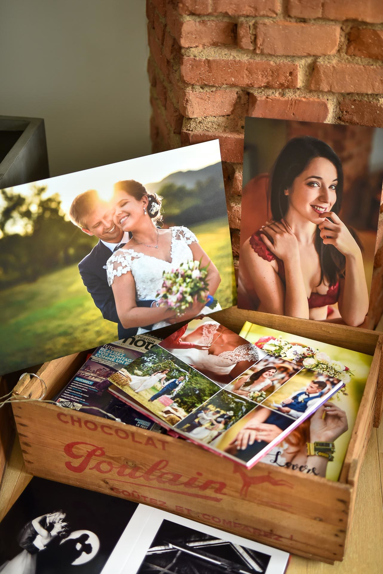 tirage album - Valentine Poulain produits