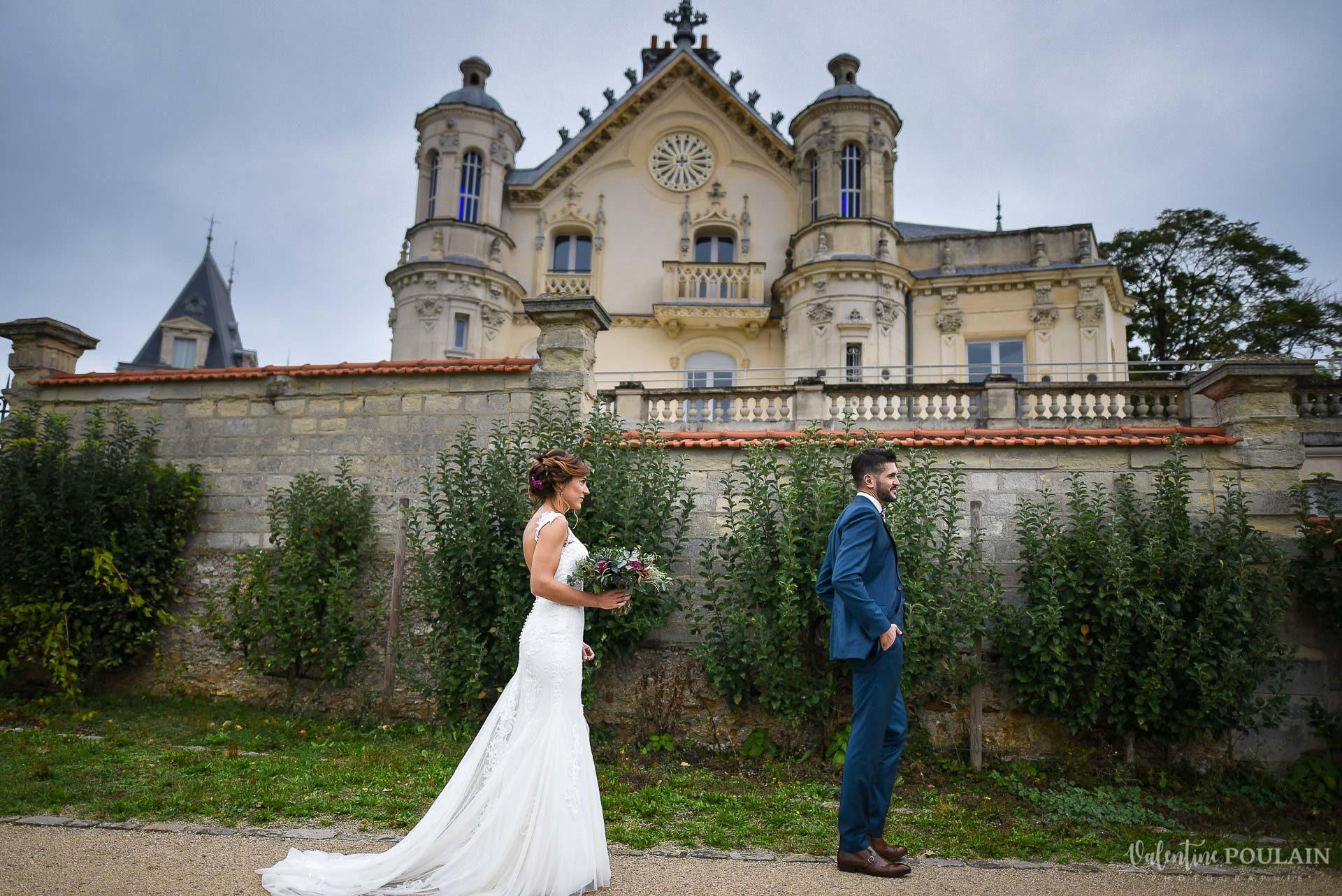 Mariage lieu insolite Paris -Valentine Poulain Domaine de Brunel Château du Prieuré découverte