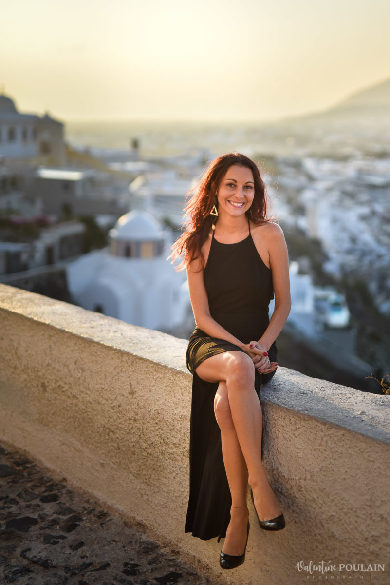 Shooting photo day after Santorin - Valentine Poulain madame