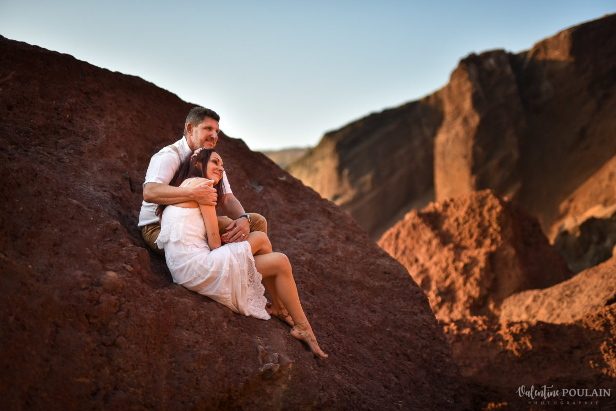 Shooting photo day after Santorin - Valentine Poulain assis