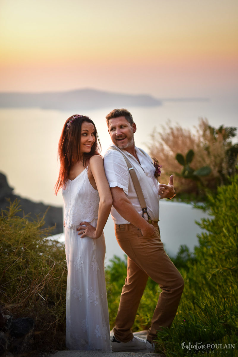 Shooting photo day after Santorin - Valentine Poulain fun
