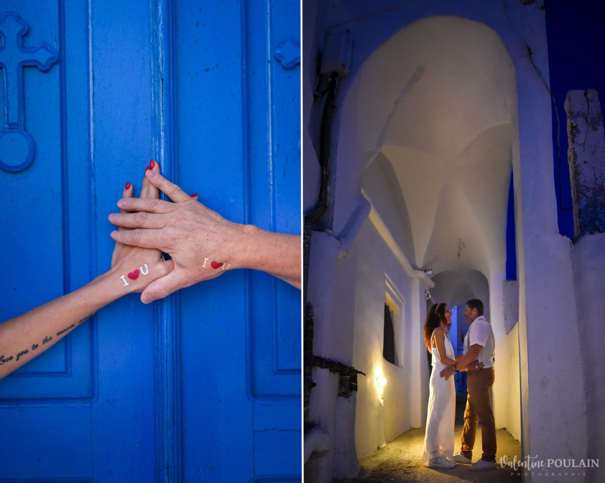 Shooting photo day after Santorin - Valentine Poulain mains