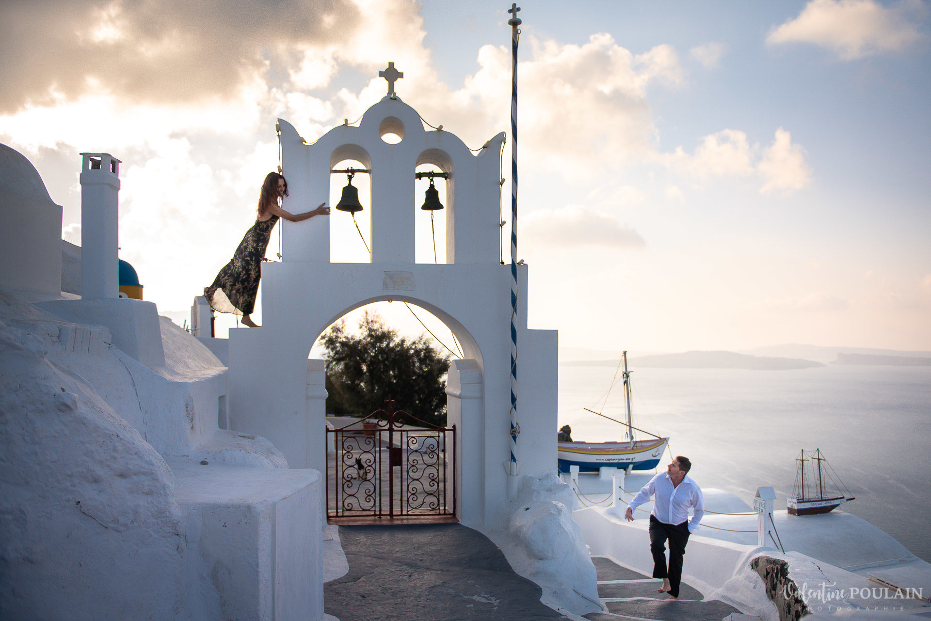 Shooting photo day after Santorin - Valentine Poulain monter