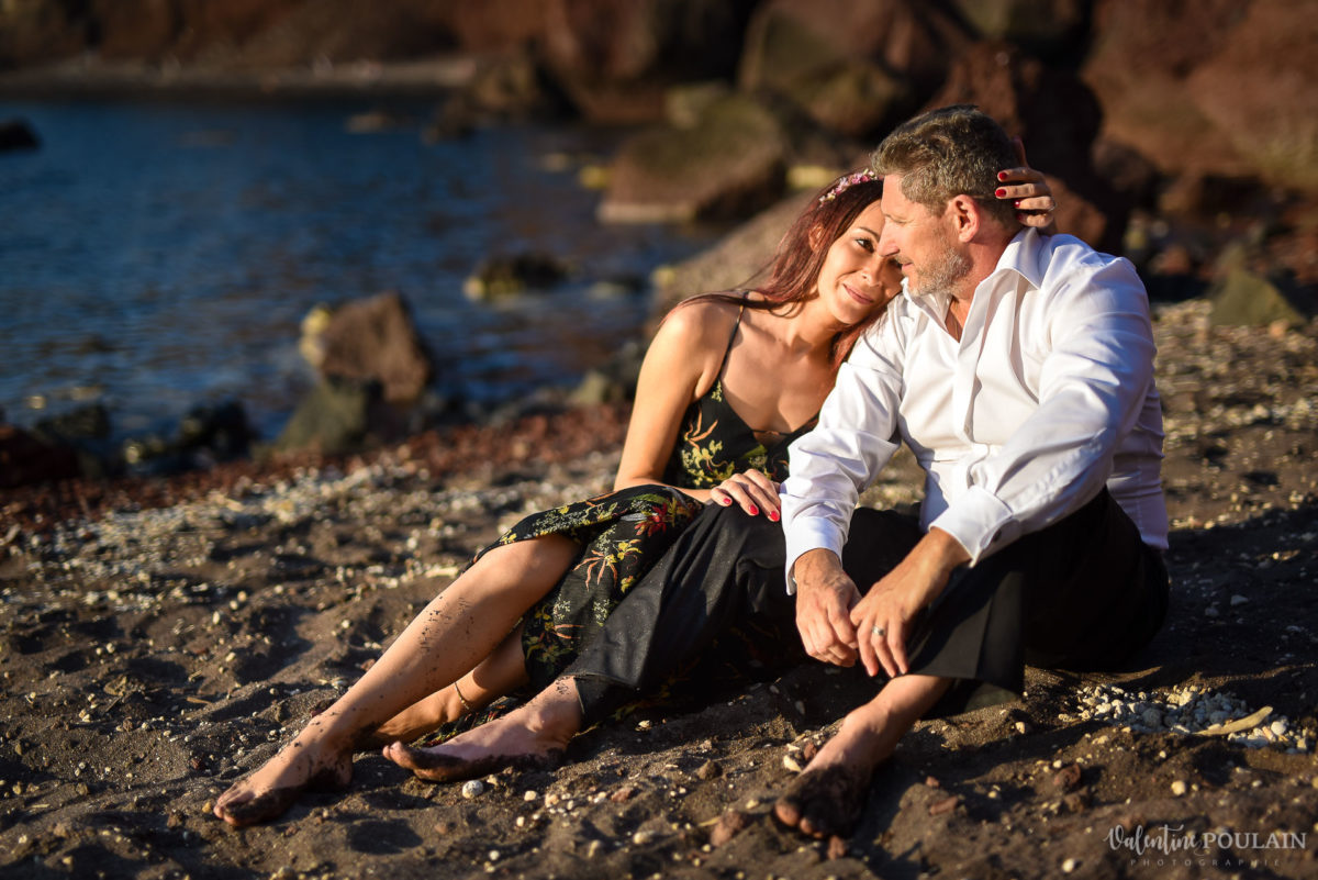 Shooting photo day after Santorin - Valentine Poulain plage