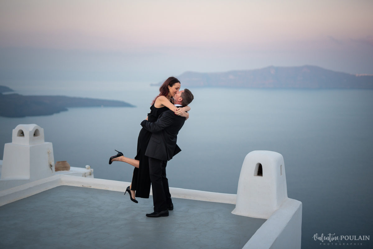Shooting photo day after Santorin - Valentine Poulain toit