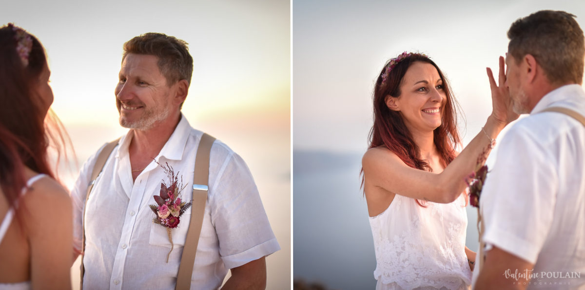Shooting photo day after Santorin - Valentine Poulain smile