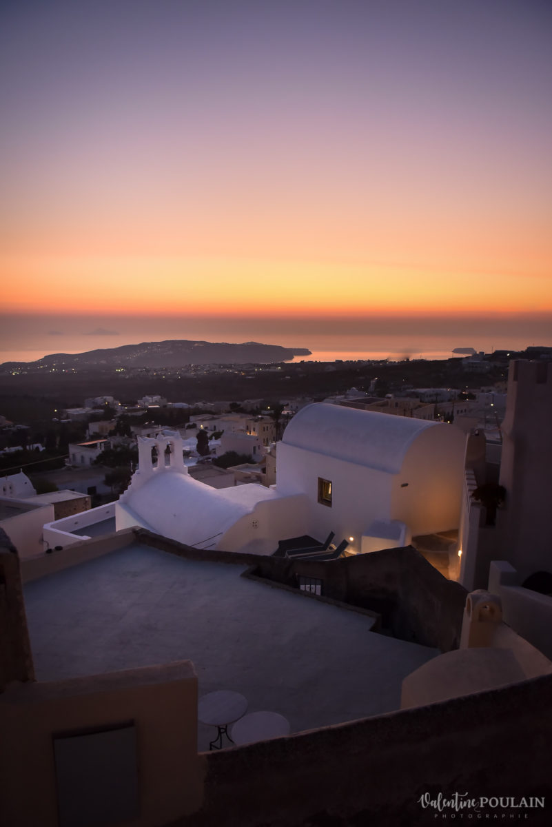 Shooting photo day after Santorin - Valentine Poulain sunrise