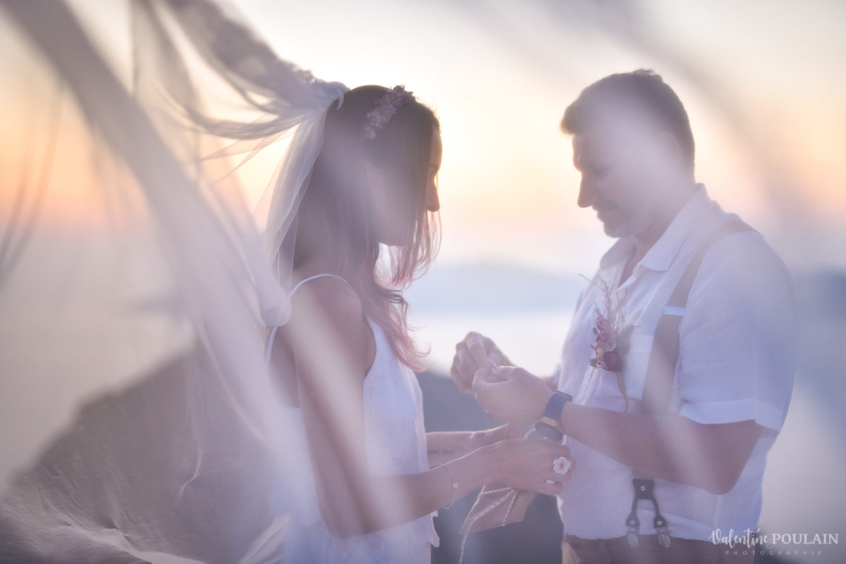 Shooting photo day after Santorin - Valentine Poulain voile