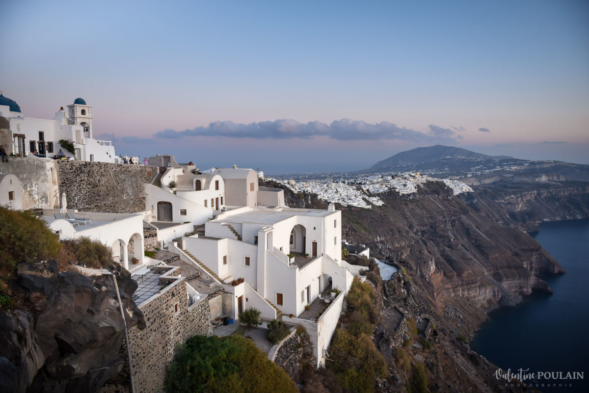 Shooting photo day after Santorin - Valentine Poulain vue ile