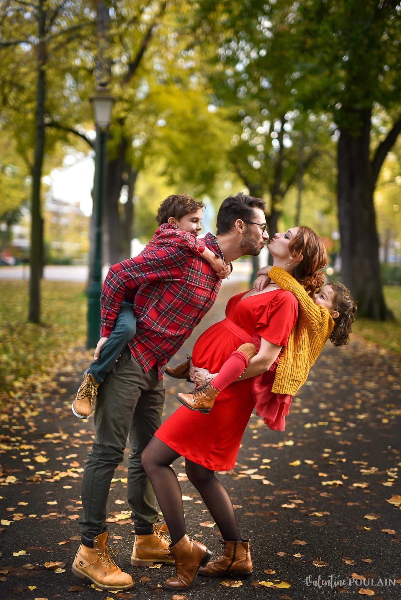 Séance famille automne Colmar nature - Valentine Poulain