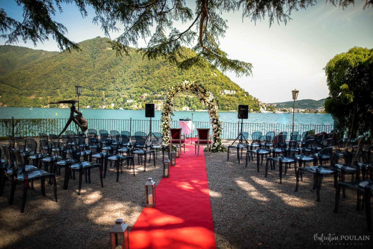 Ceremonie laïque lac de Côme - Valentine Poulain