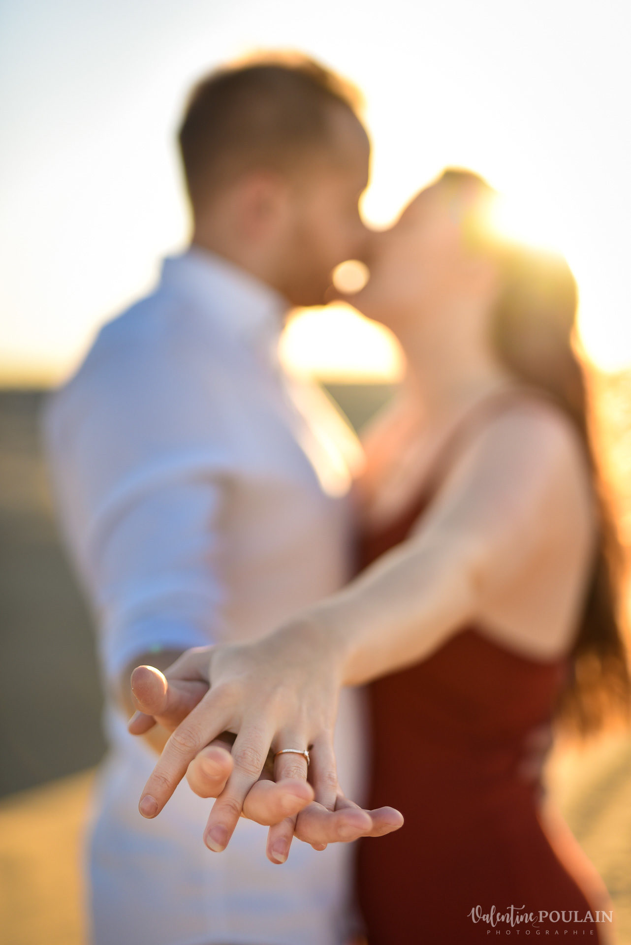 Demande en mariage Désert Dubaï - Valentine Poulain alliances