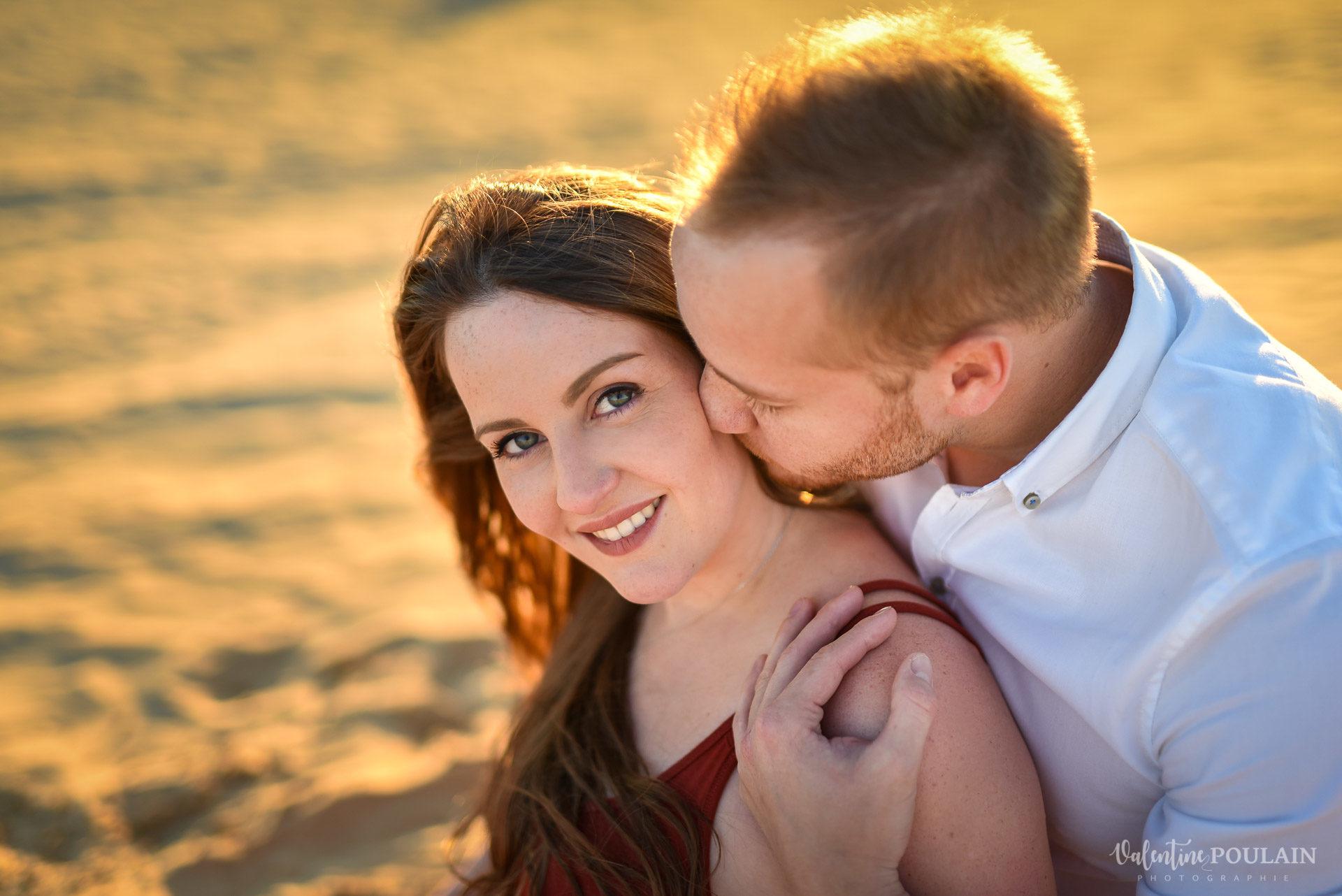 Demande en mariage Désert Dubaï - Valentine Poulain yeux