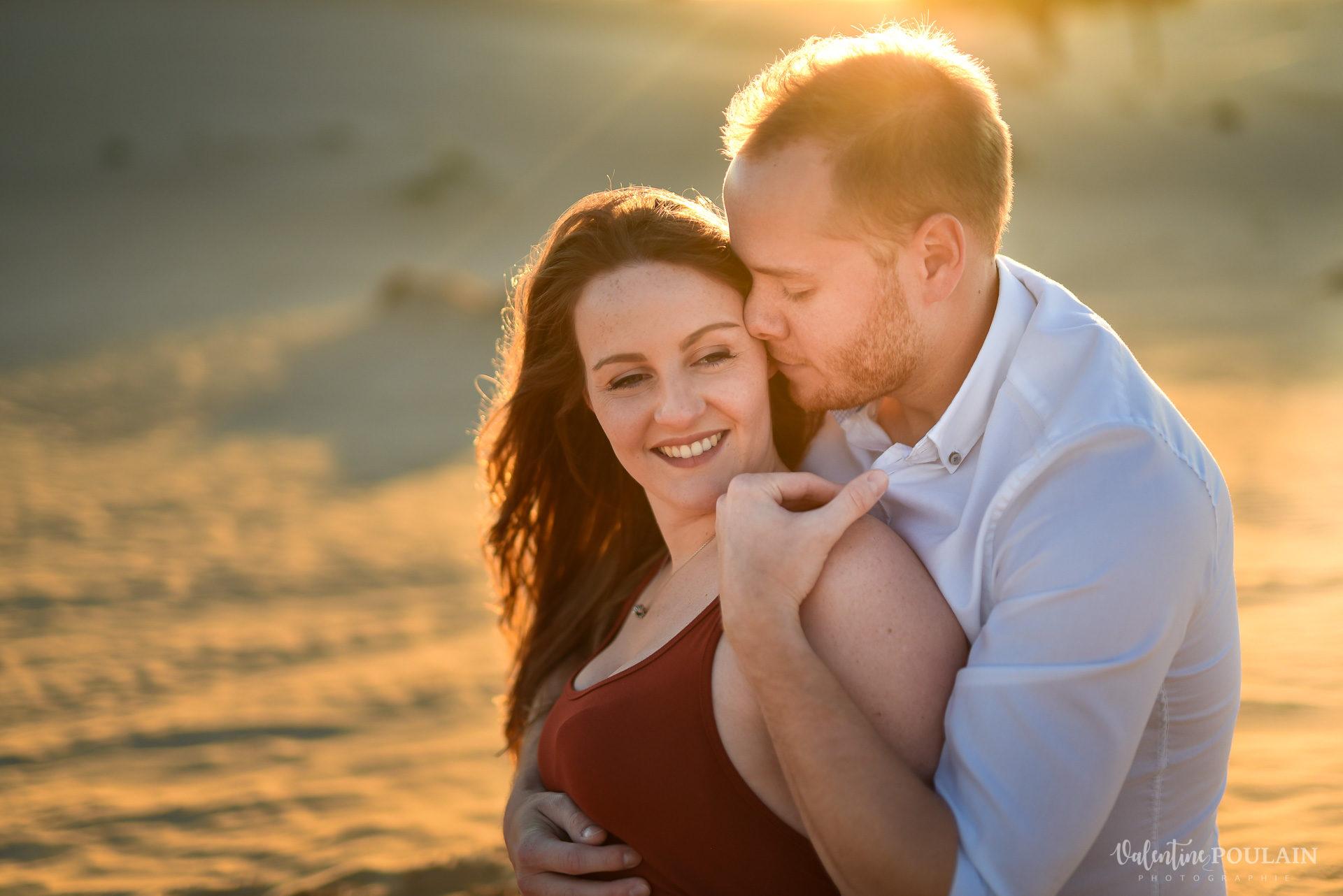 Demande en mariage Désert Dubaï - Valentine Poulain rire