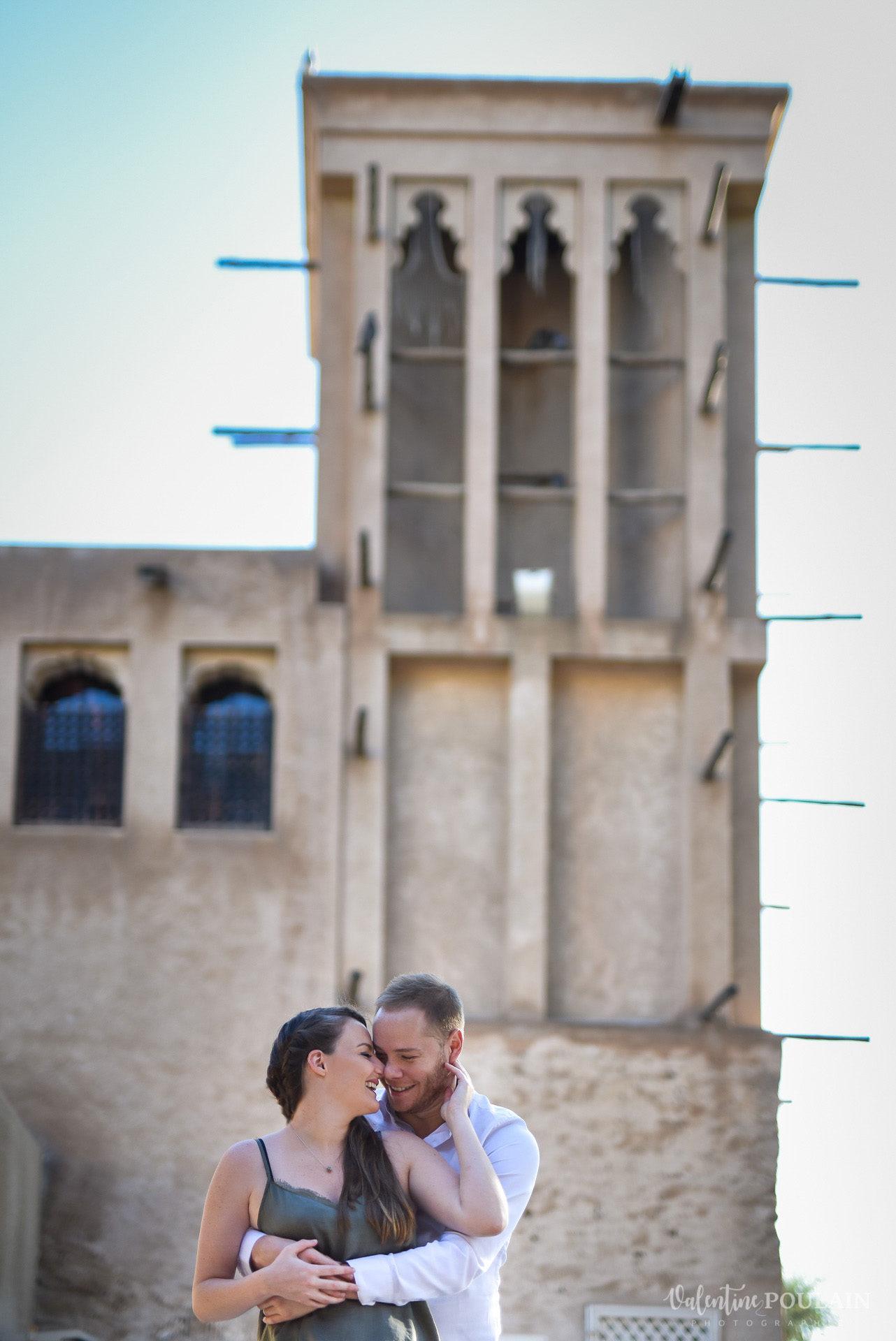 Demande en mariage Désert Dubaï - Valentine Poulain bâtisse