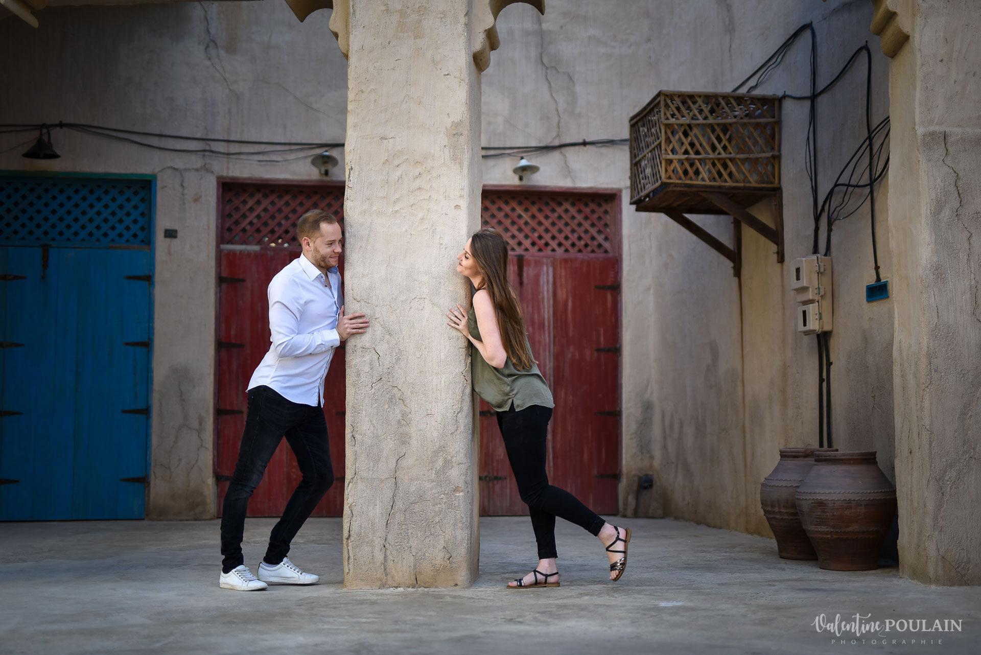 Demande en mariage Désert Dubaï - Valentine Poulain jeu
