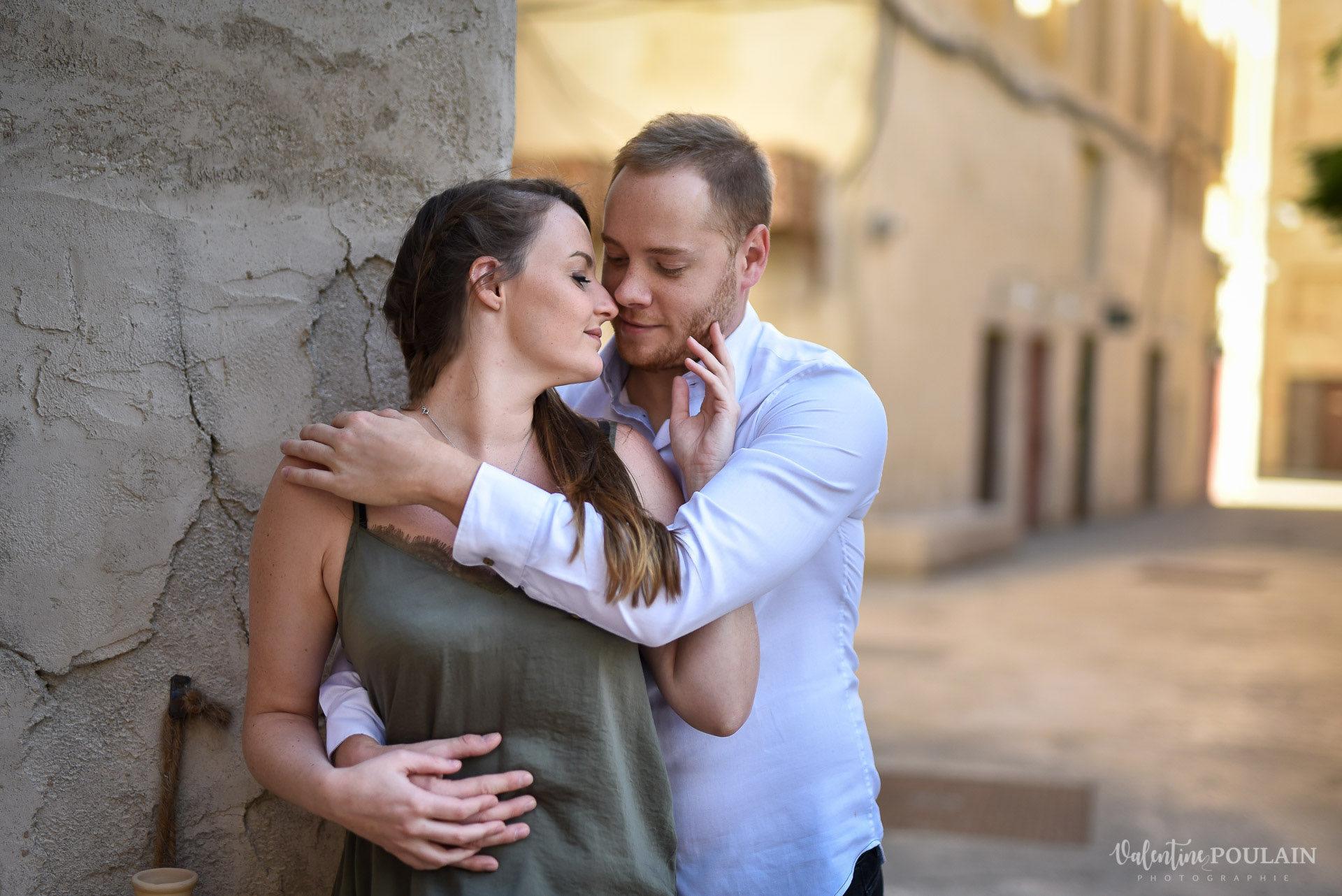 Demande en mariage Désert Dubaï - Valentine Poulain tendresse