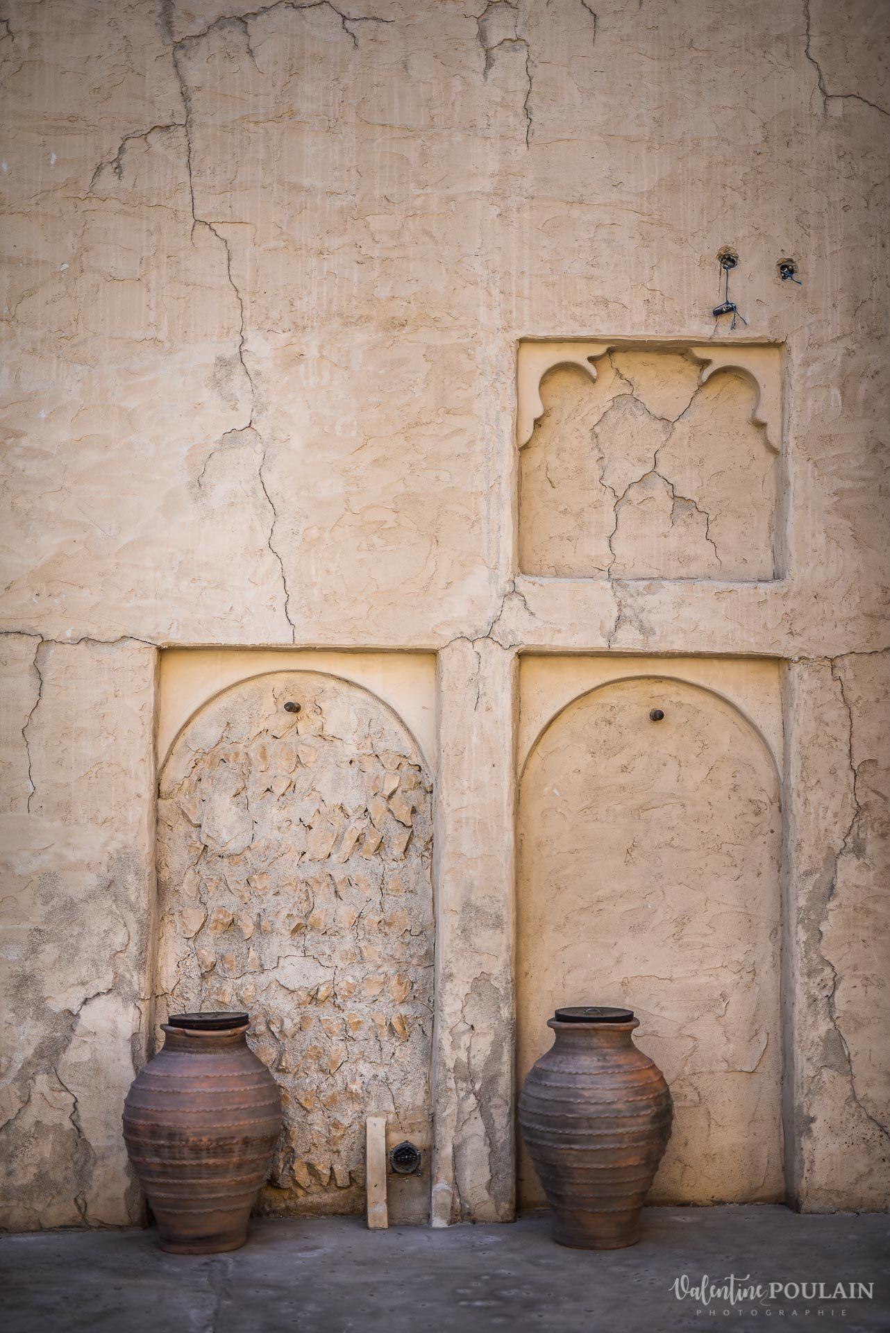 Dubaï Valentine Poulain façade