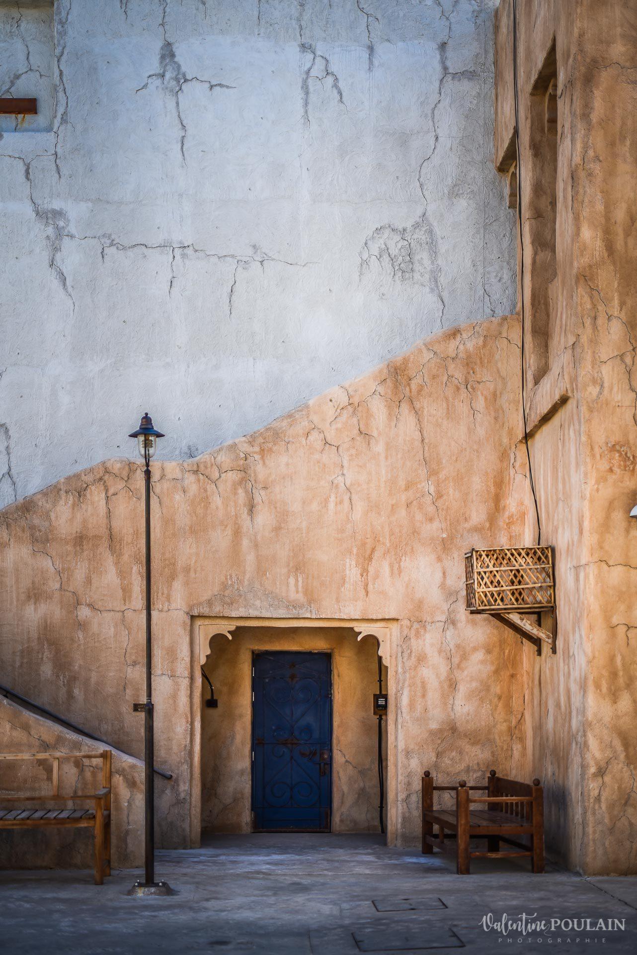 Dubaï Valentine Poulain mur