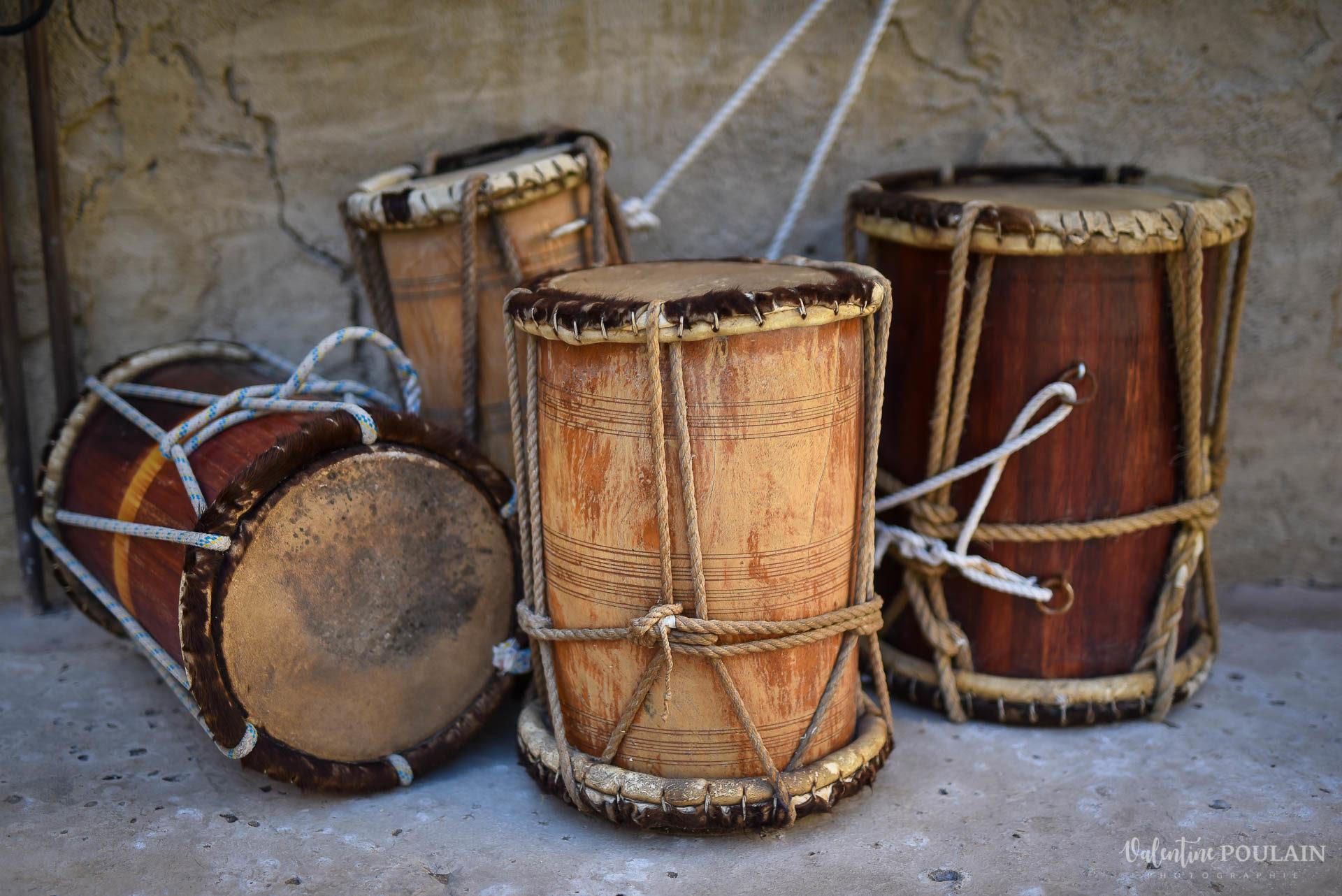 Dubaï Valentine Poulain tambours