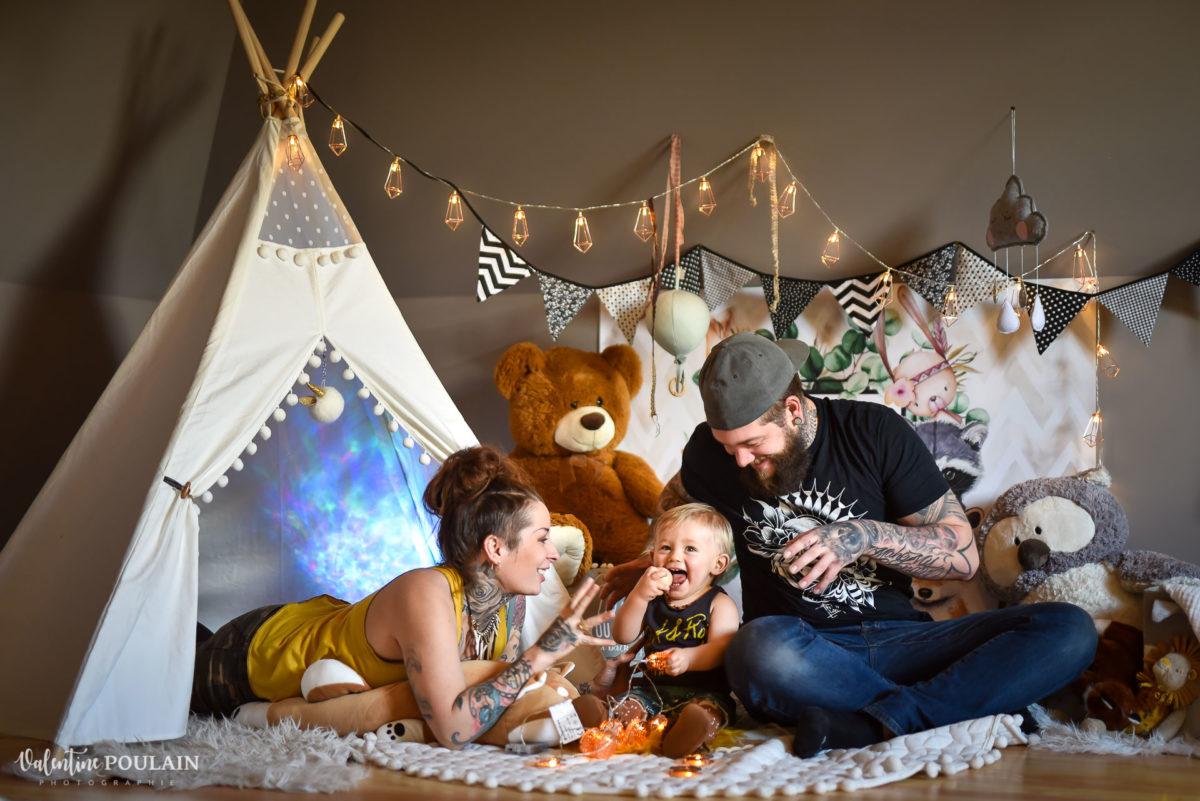 famille 1 an anniversaire - Valentine Poulain