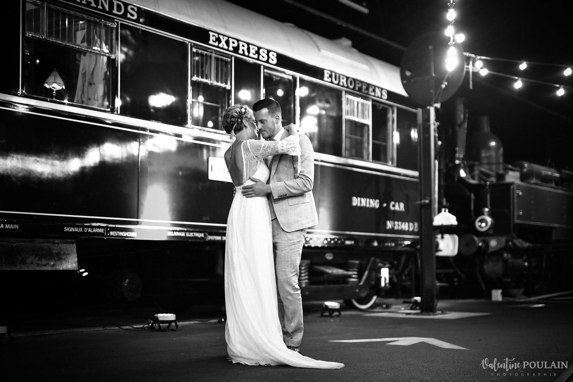 Mariage cité du train 1ere danse - Valentine Poulain