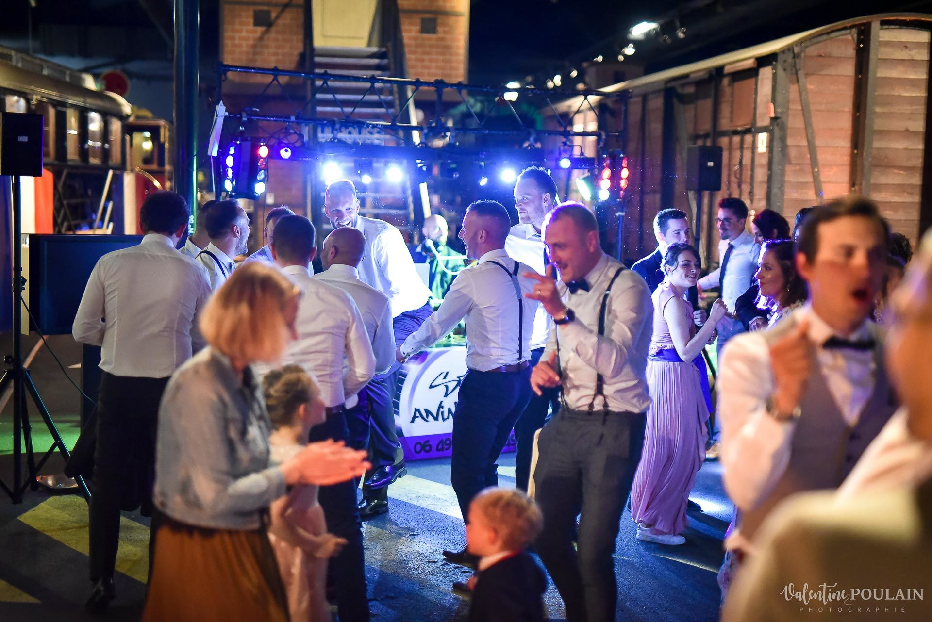 Mariage cité du train soirée - Valentine Poulain