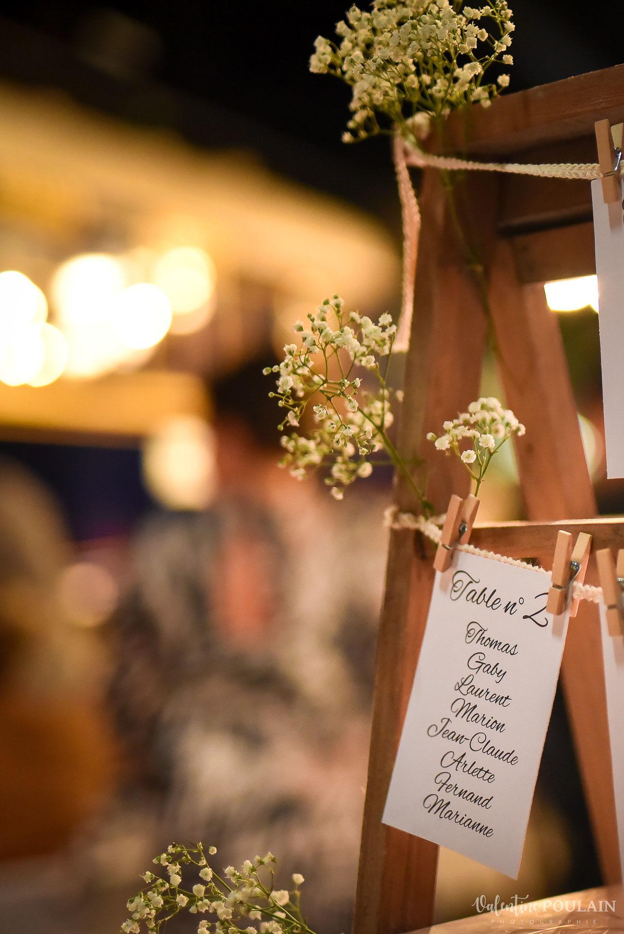 Mariage cité du train nom tables - Valentine Poulain