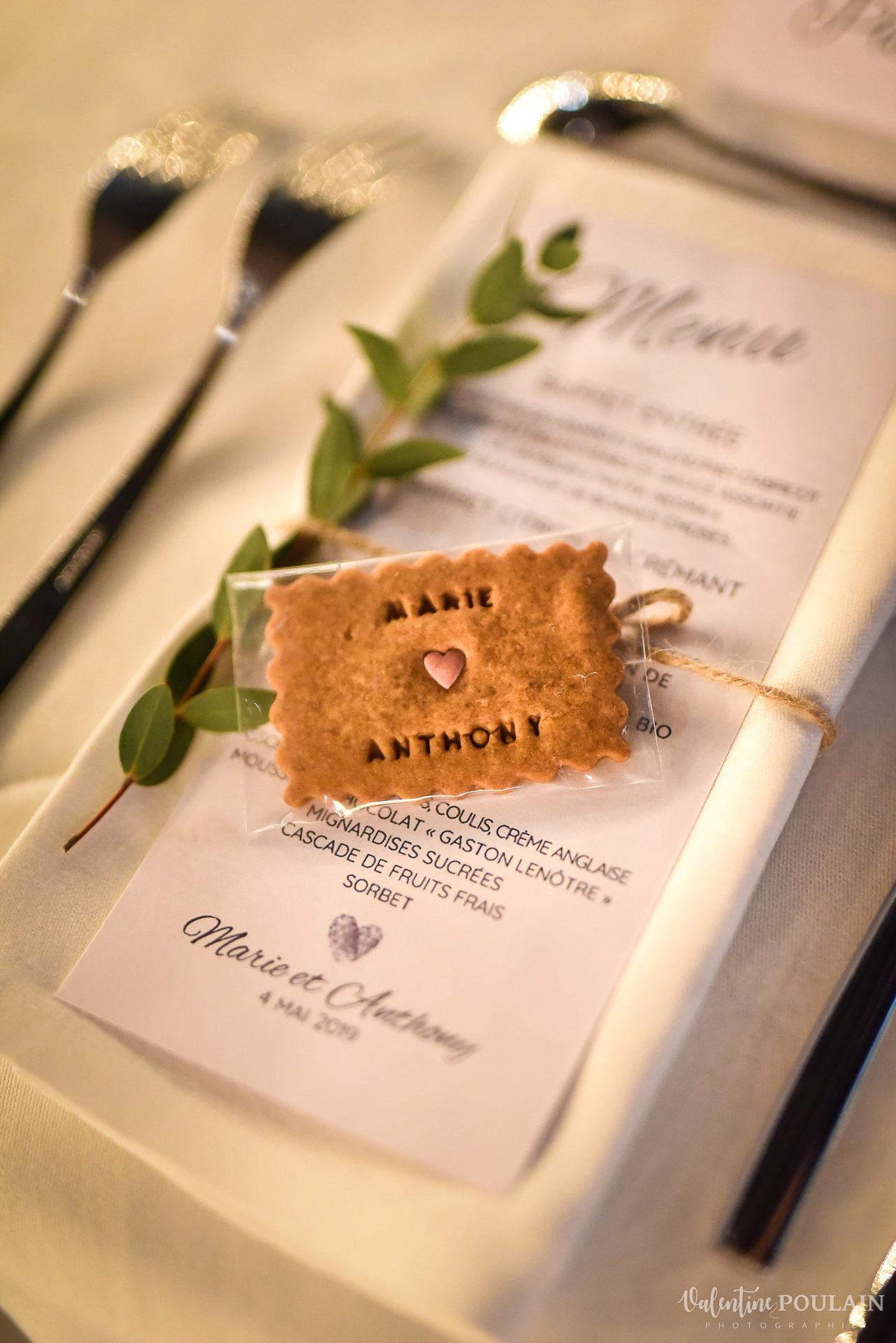 Mariage cité du train biscuit - Valentine Poulain