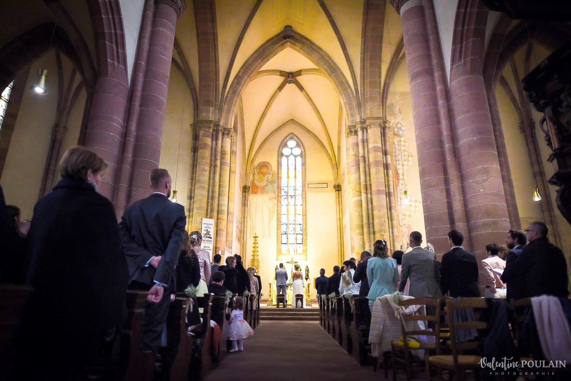 Mariage cité du train église - Valentine Poulain