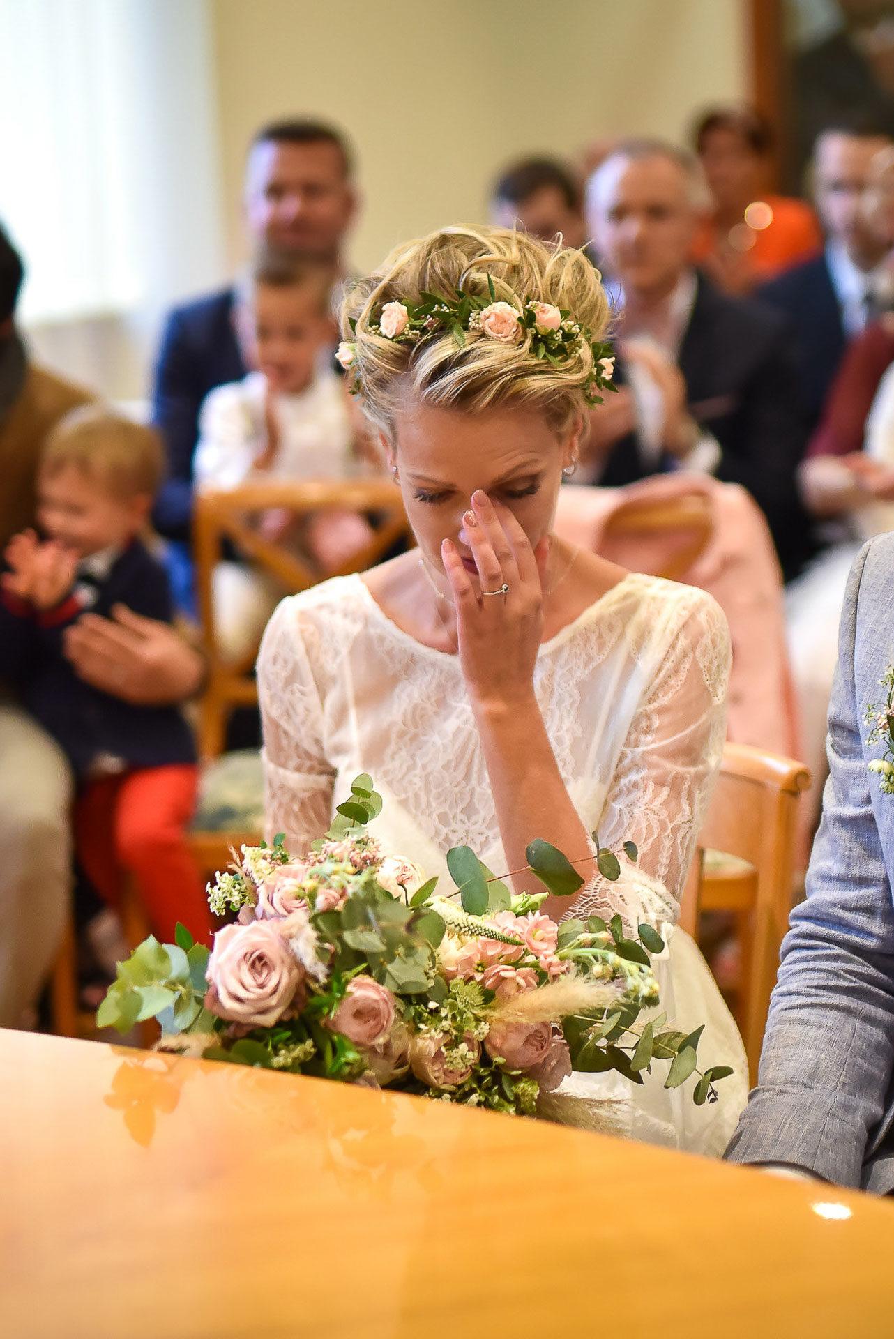 Mariage cité du train pleurer - Valentine Poulain