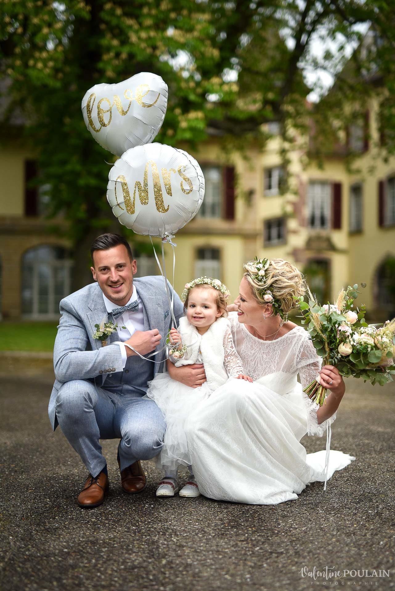 Mariage cité du train family - Valentine Poulain