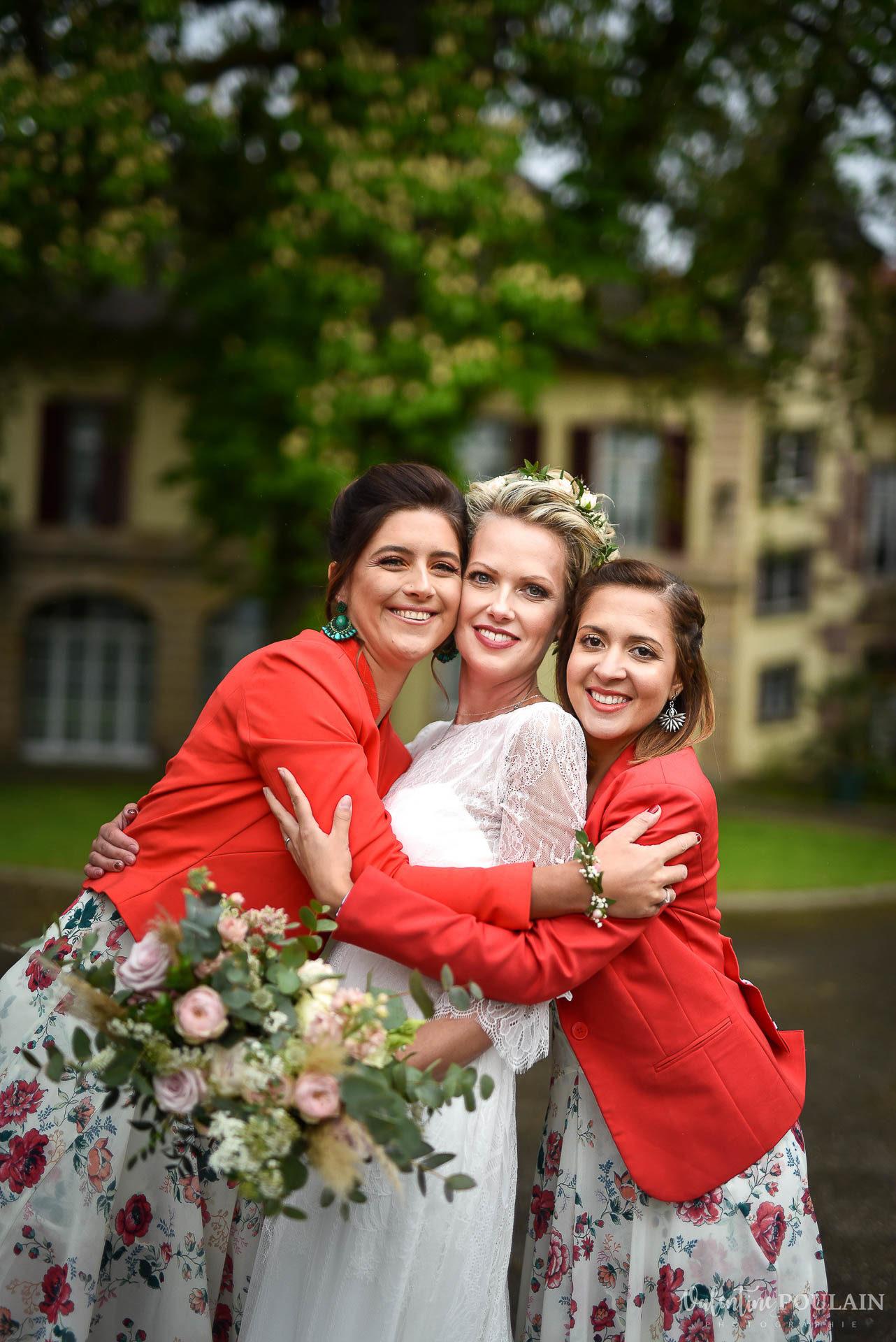 Mariage cité du train témoins femmes - Valentine Poulain