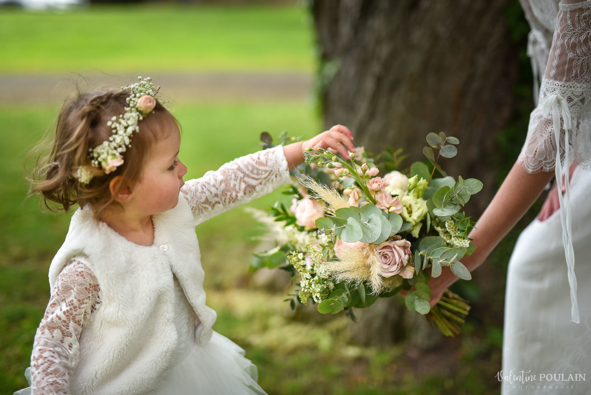 Mariage cité du train bouquet petite - Valentine Poulain