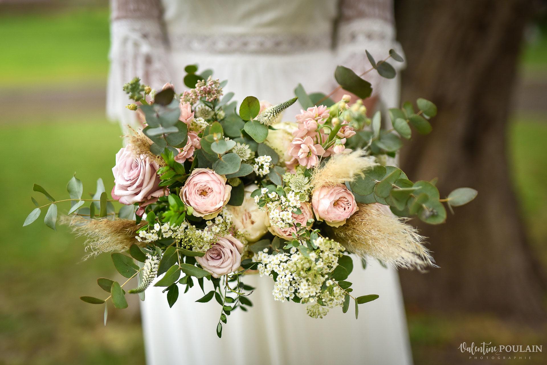 Mariage cité du train fleur - Valentine Poulain