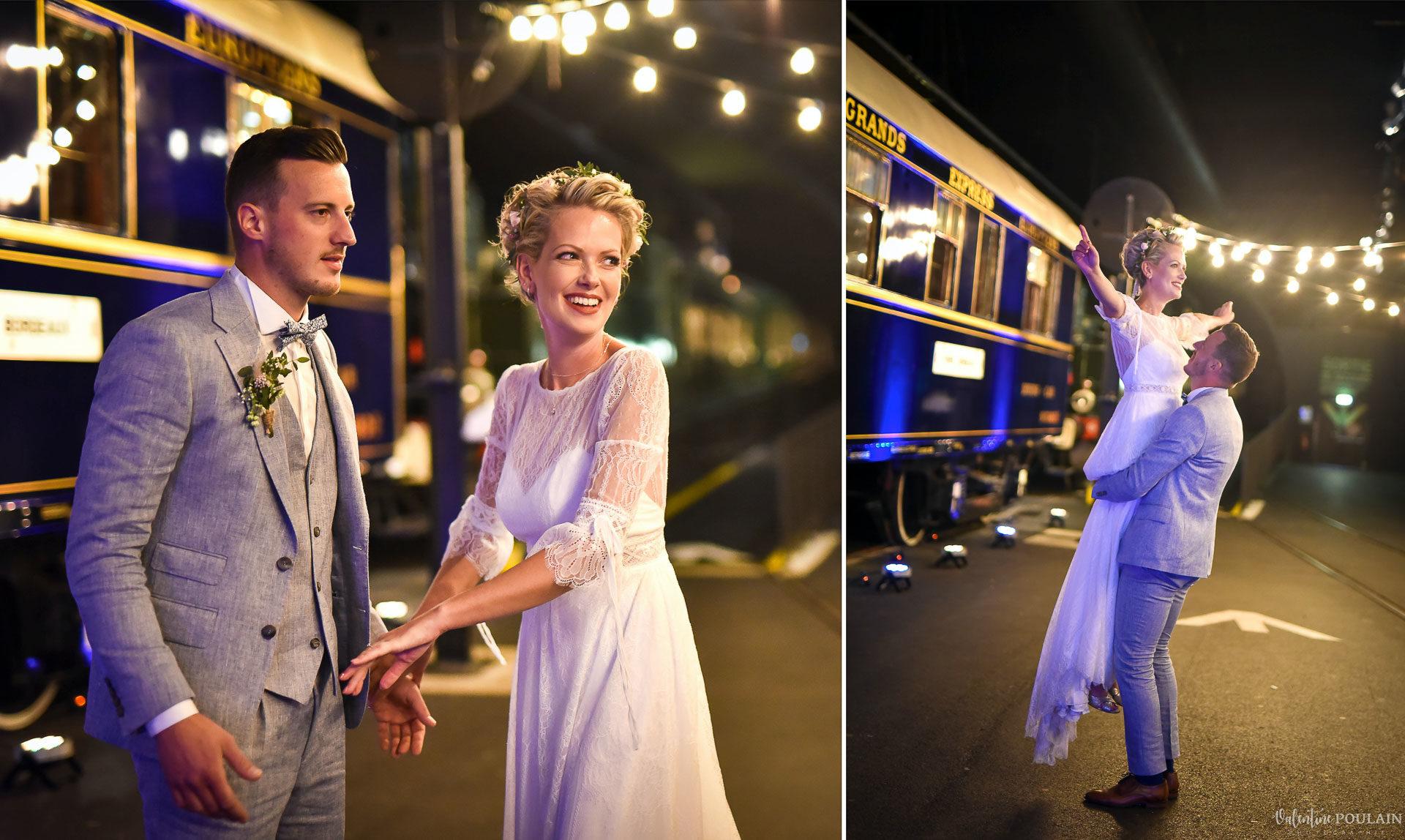 Mariage cité du train danser - Valentine Poulain