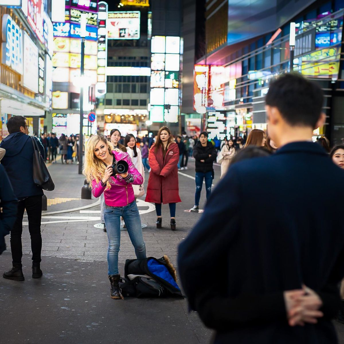 Tokyo backstage - Valentine Poulain
