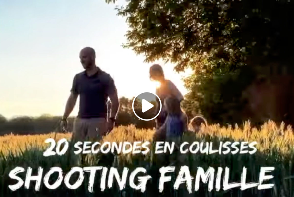 20sec making-of shooting famille