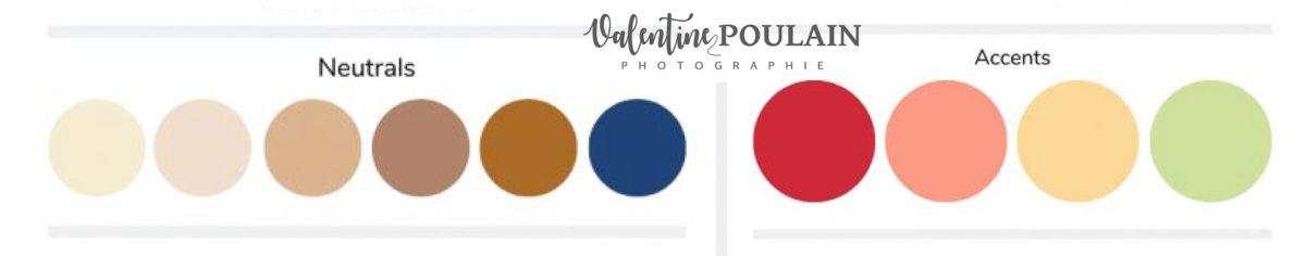 Palette couleurs printemps - Valentine Poulain