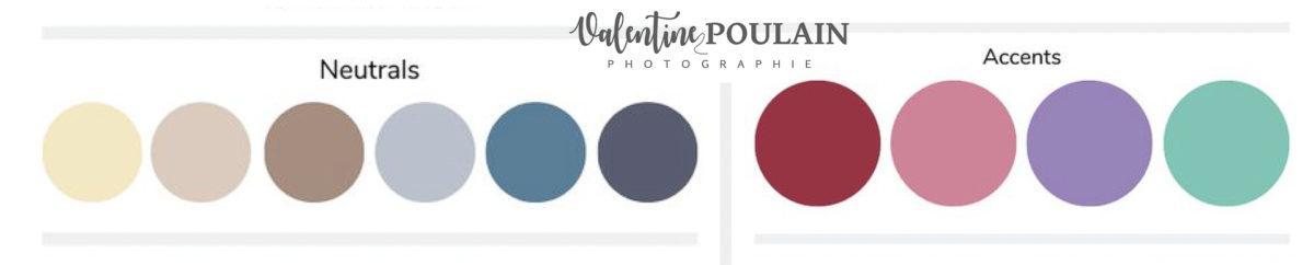 Palette couleurs été - Valentine Poulain