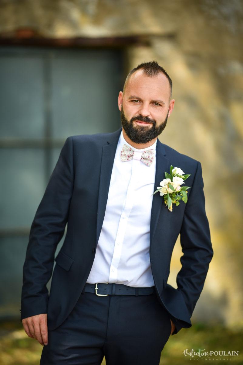 Mariage fun kermesse party - Valentine Poulain marié